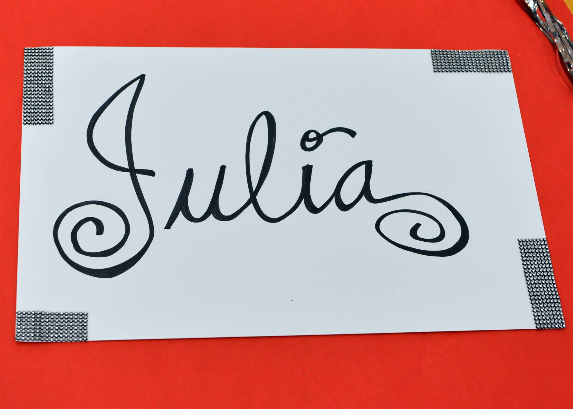 Homecoming name  Julia