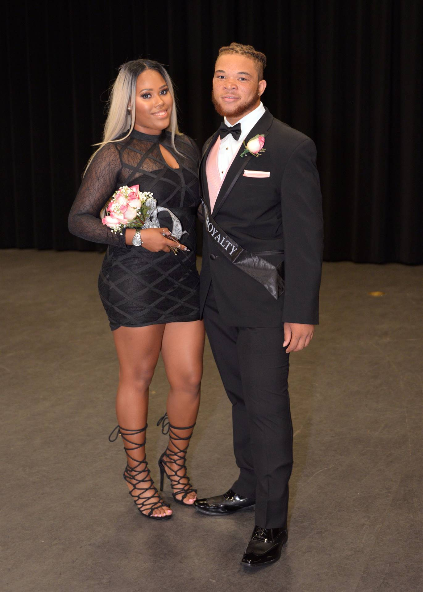 Homecoming Zaona and Kiyon backstage