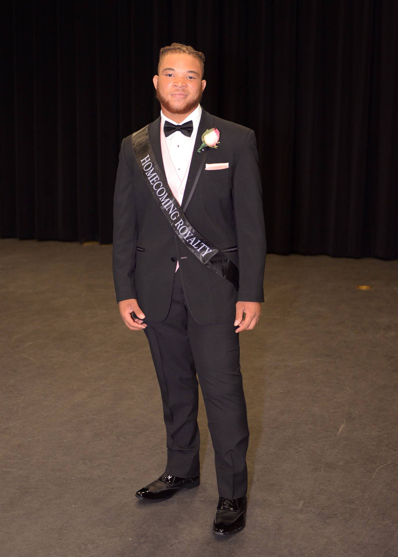 Homecoming Kiyon backstage