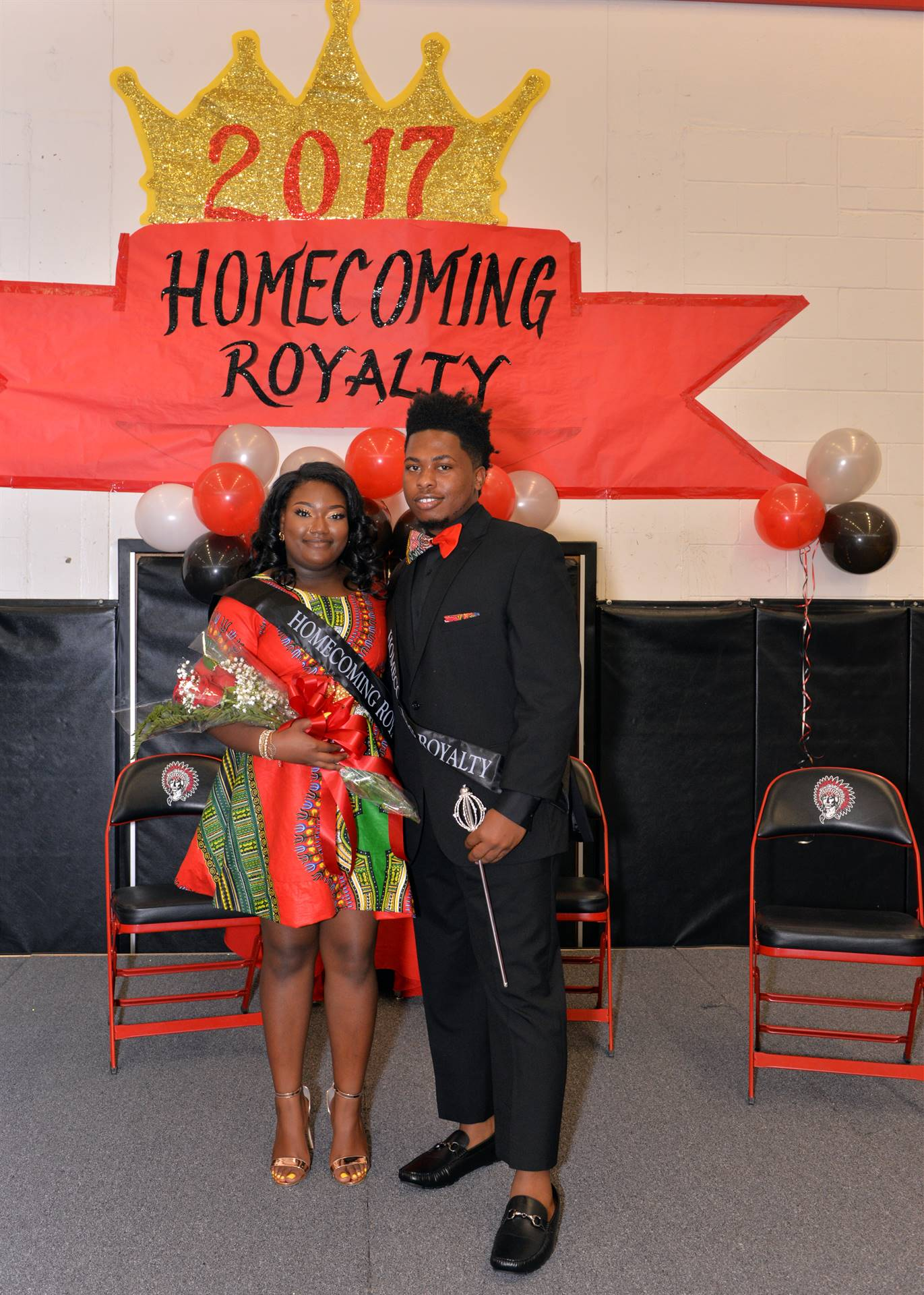 Homecoming Caniyah and Jumar stage