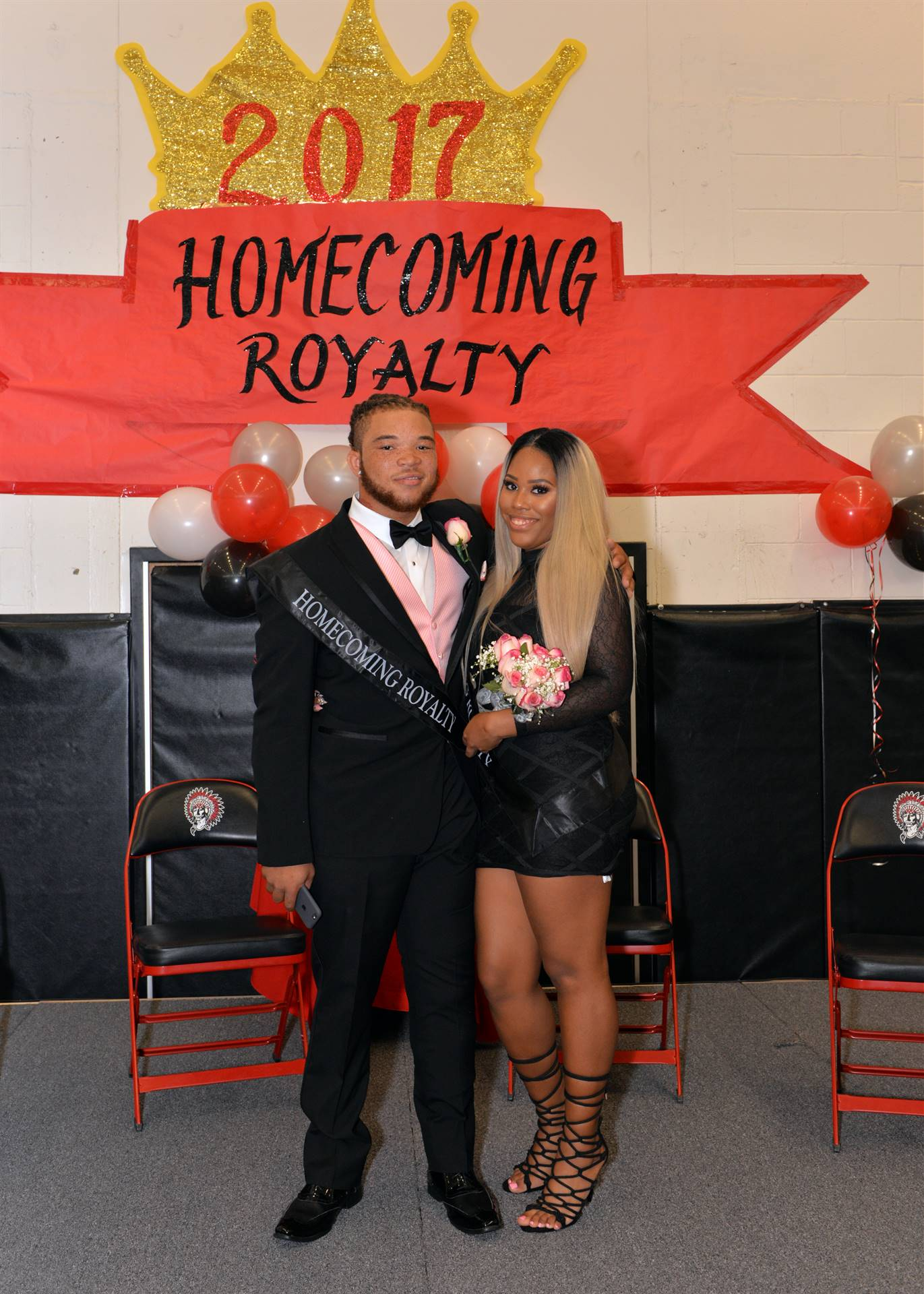 Homecoming Zaona and Kiyon stage