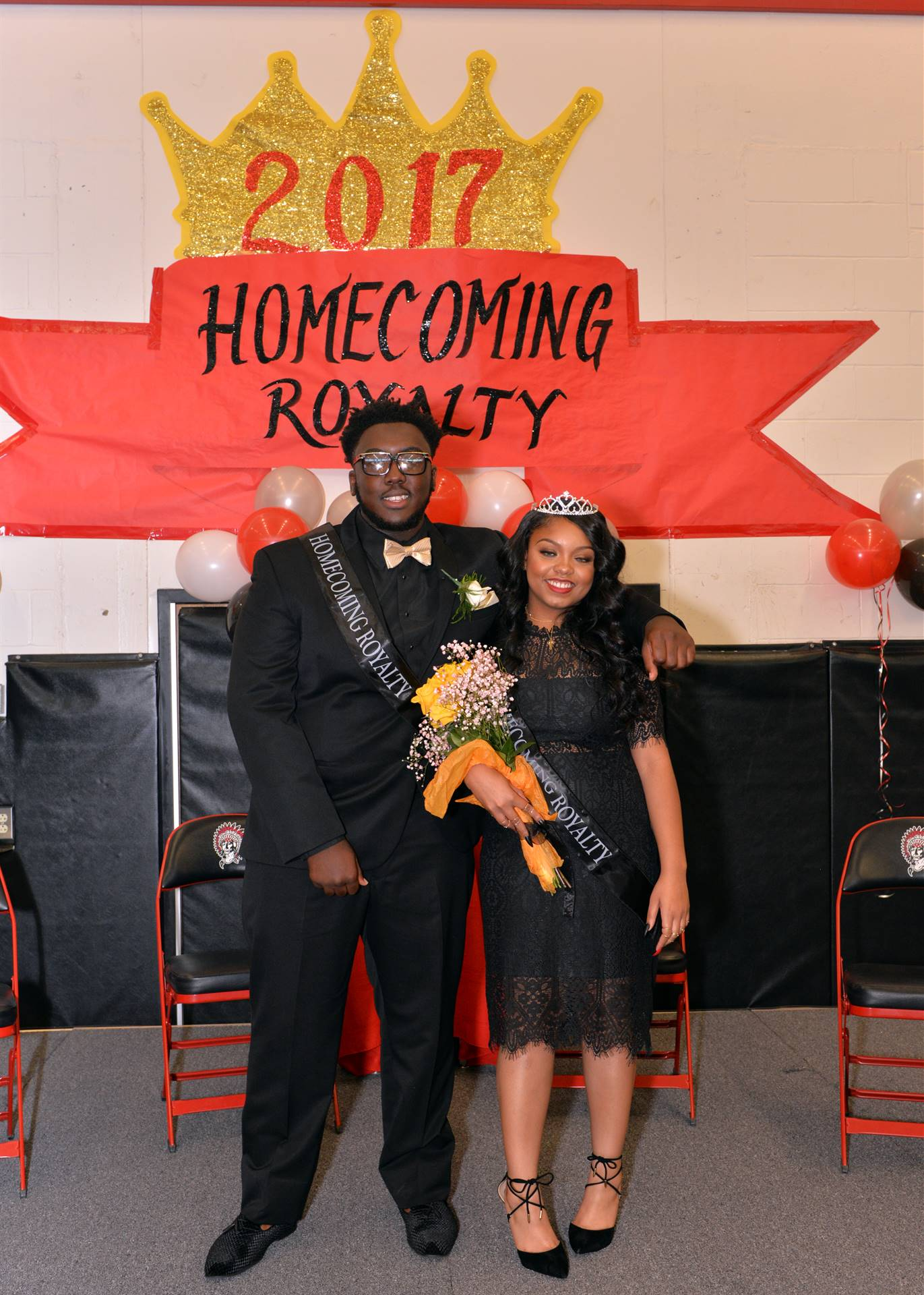 Homecoming Nyonna and Dajour stage