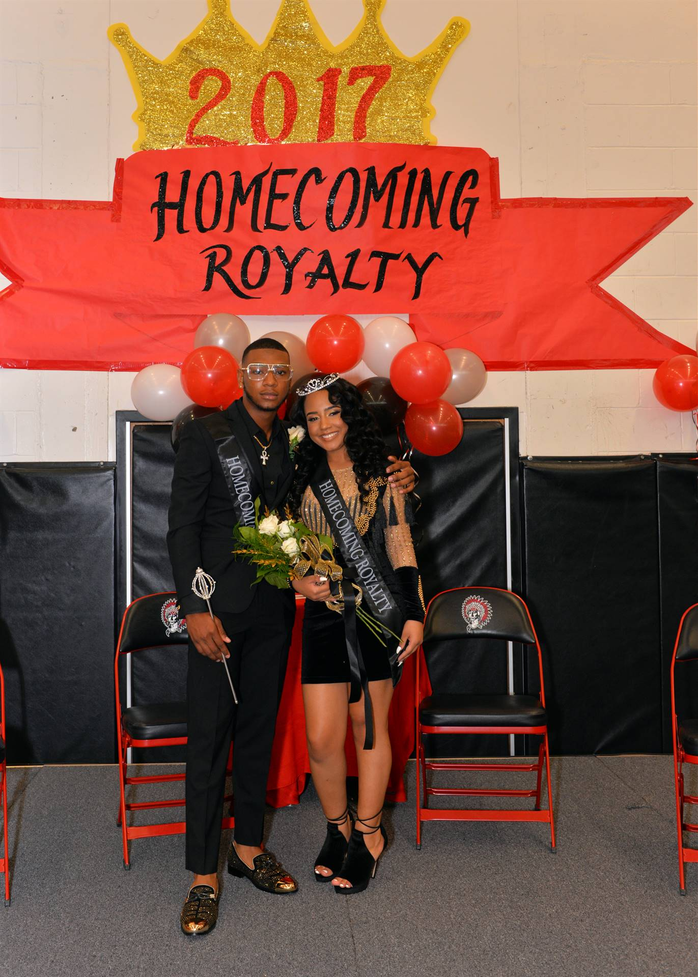 Homecoming Cherakee and Zyrae stage