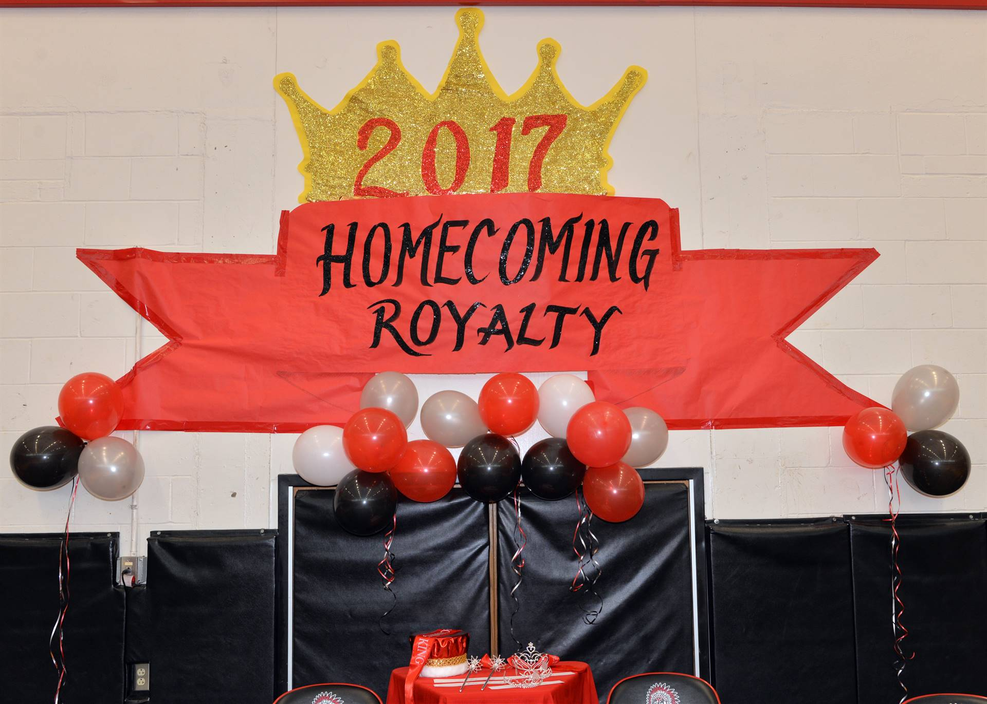 Homecoming stage