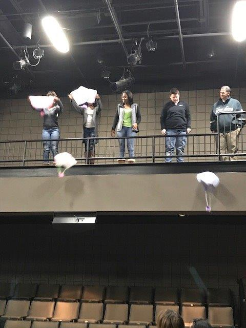 STEM Board Meeting 2017 Parachutes