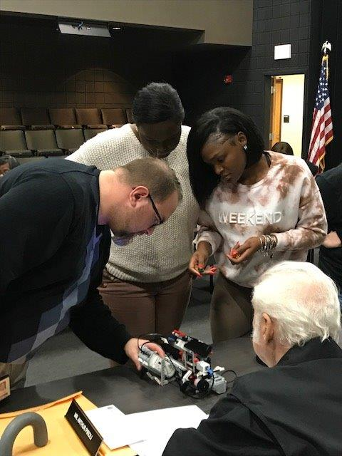 STEM Board Meeting 2017 Robots