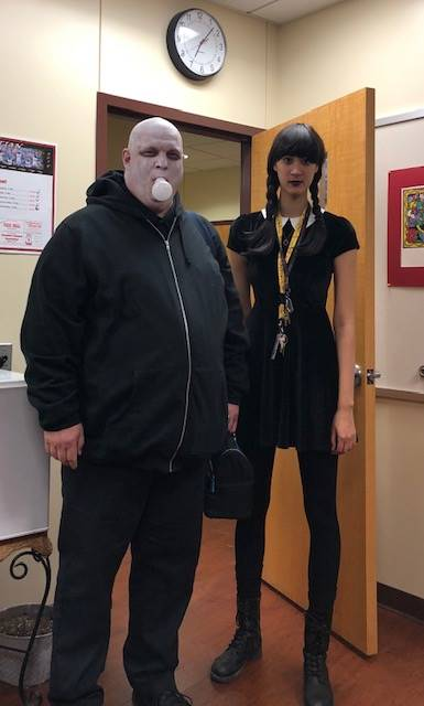 Halloween 2018 Staff