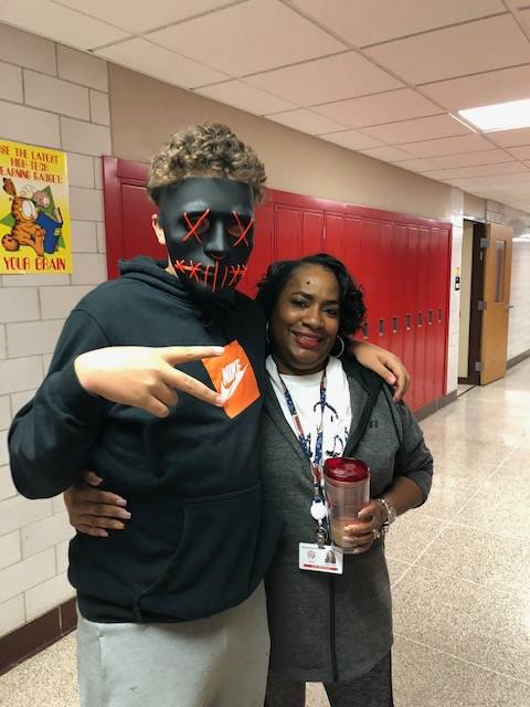 Halloween 2018 Staff & Students