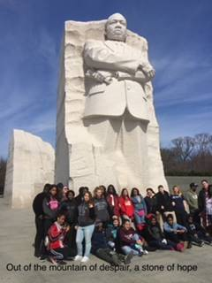 MLK stone of hope