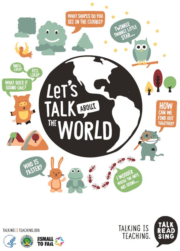 Let's Talk About the World (Poster)
