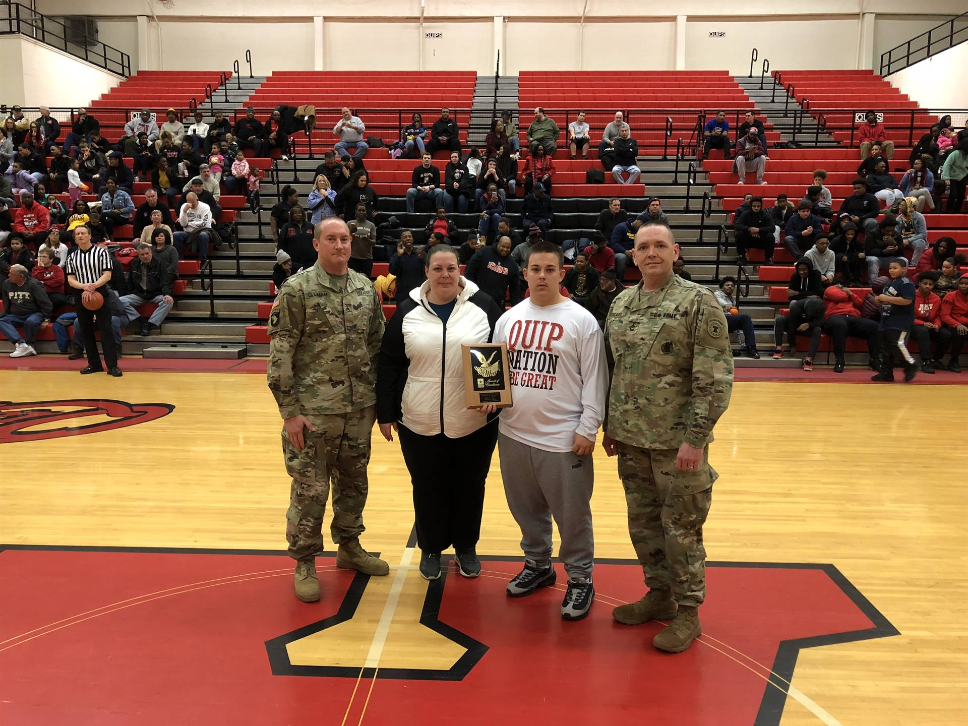Shaw - Army athlete of the month