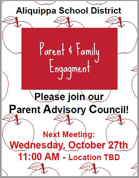 Join our Parent Advisory Council